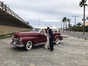 alquiler coches clasicos exclusivos de lujo bodas eventos rodajes alicante murcia catalina