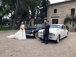 alquiler coches clasicos exclusivos de lujo bodas eventos rodajes alicante murcia martina