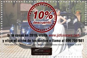 alquiler coches clasicos exclusivos de lujo bodas eventos rodajes alicante murcia oferta descuento marzo 2019 jjdluxe cars