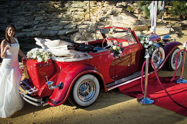 alquiler de duesenberg r rojo 1931 en alicante bodas eventos rodajes jj dluxe cars