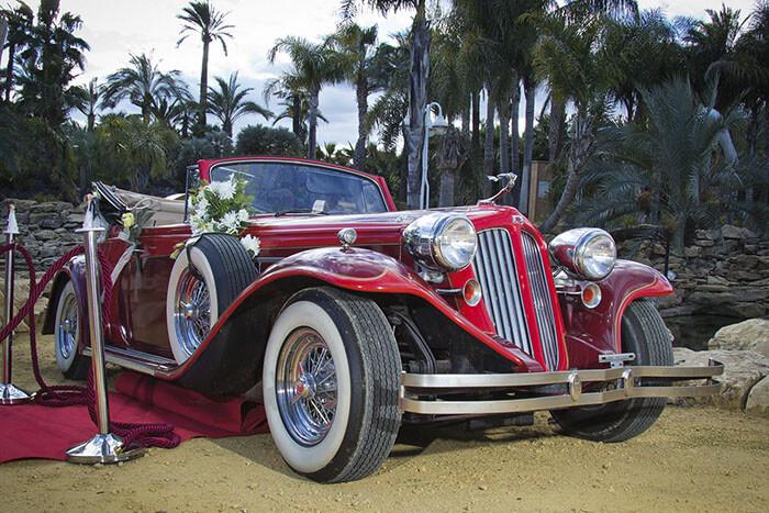 alquiler de duesenberg r rojo 1931 en alicante bodas eventos rodajes jj dluxe cars portada