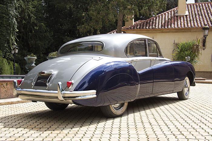 alquiler de jaguar mk vii azul gris 1956 en alicante para bodas precio eventos rodajes jj dluxe cars 2