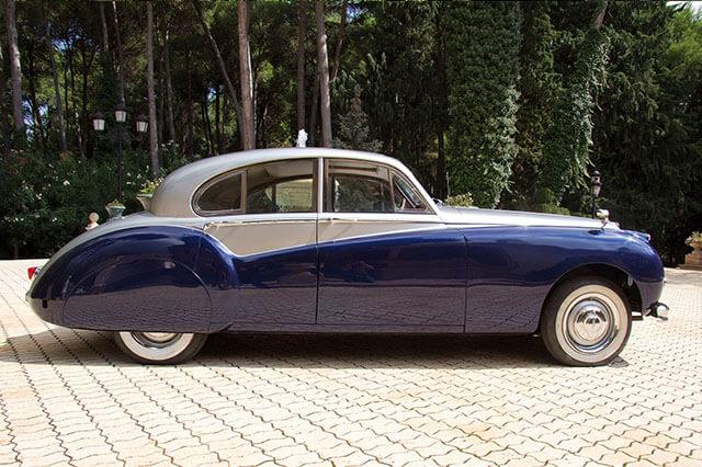 alquiler de jaguar mk vii azul gris 1956 en alicante para bodas precio eventos rodajes jj dluxe cars 4