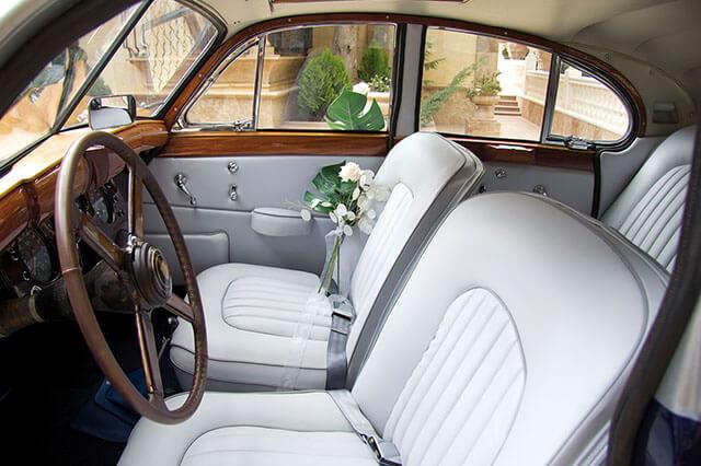 alquiler de jaguar mk vii azul gris 1956 en alicante para bodas precio eventos rodajes jj dluxe cars 8