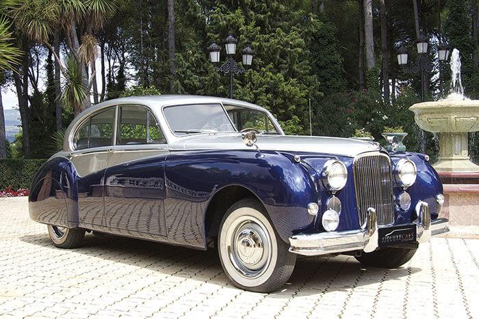alquiler de jaguar mk vii azul gris 1956 alicante para bodas precio eventos rodajes jj dluxe cars portada