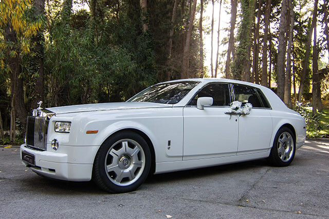 alquiler de rolls royce phantom blanco en alicante 2007 bodas eventos rodajes jj dluxe cars
