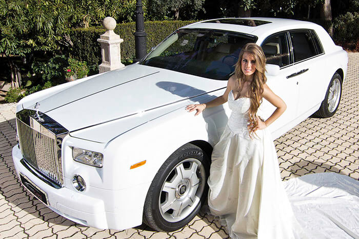 alquiler de rolls royce phantom blanco en alicante 2007 bodas eventos rodajes jj dluxe cars portada