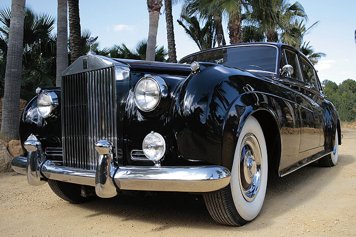alquiler de rolls royce silver cloud negro 1959 bodas eventos rodajes jj dluxe cars alicante 2