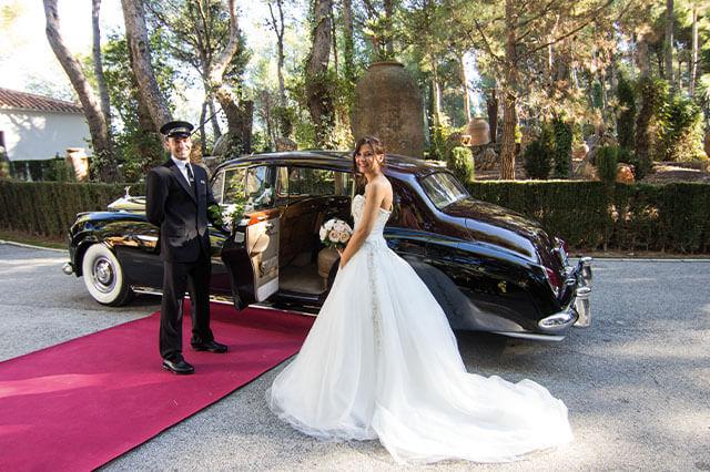alquiler de rolls royce silver cloud negro 1959 bodas eventos rodajes jj dluxe cars alicante 4