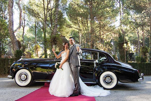 alquiler de rolls royce silver cloud negro 1959 bodas eventos rodajes jj dluxe cars alicante 8