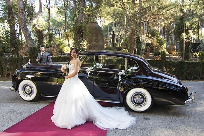 alquiler de rolls royce silver cloud negro 1959 bodas eventos rodajes jj dluxe cars alicante portada