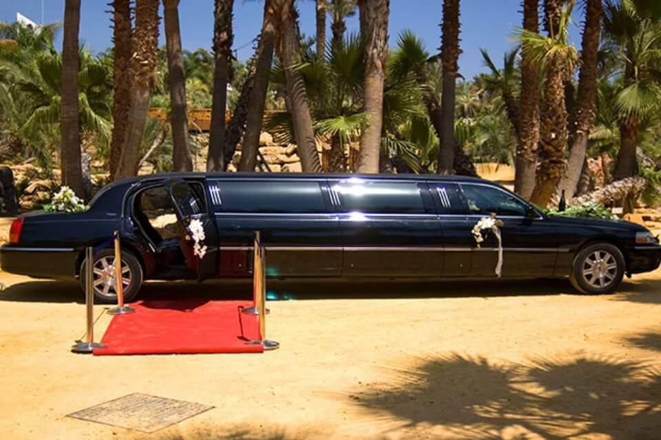 alquiler limusinas de lujo bodas eventos rodajes jjdluxe cars alicante murcia coleccion licoln town negra
