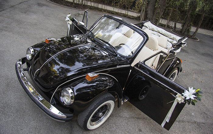 volkswagen vw beetle escarabajo cabrio descapotable 1979 negro alquiler de coches para bodas eventos y rodajes en alicante jjdluxe cars