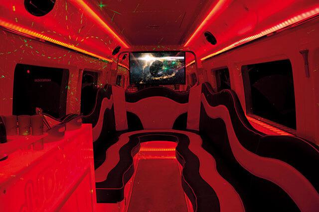 alquiler de discobus en alicante negro transfers despedidas soltera fiestas cumpleanos eventos 21 personas jj dluxe cars 3