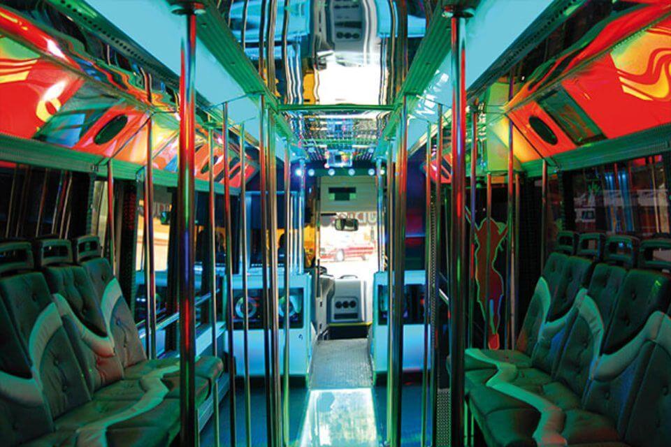 alquiler de discobus en alicante transfers despedidas soltera fiestas cumpleanos eventos 50 personas jj dluxe cars 8