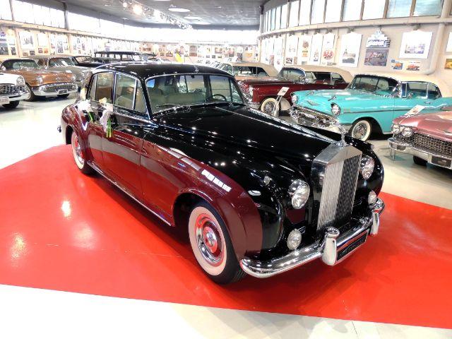 alquiler de rolls royce silver cloud maroon 1957 bodas eventos rodajes jj dluxe cars alicante