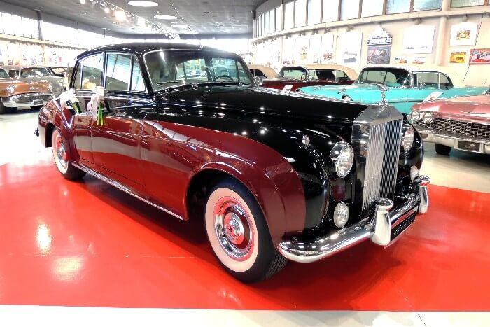 alquiler de rolls royce silver cloud maroon 1957 bodas eventos rodajes jj dluxe cars alicante portada