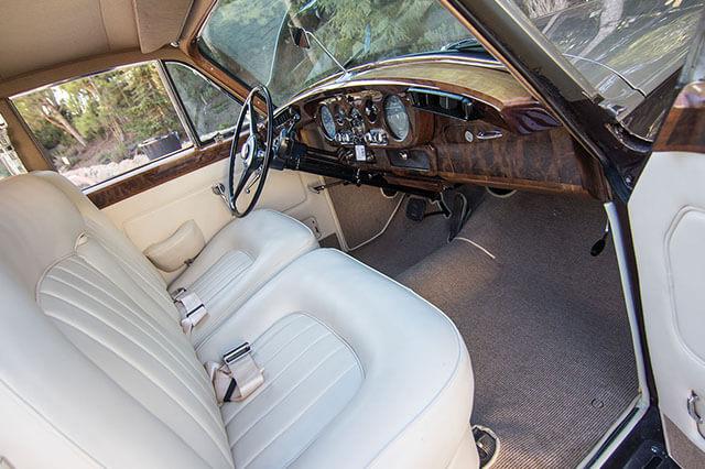 alquiler de rolls royce silver cloud marron 1962 bodas eventos rodajes jj dluxe cars alicante