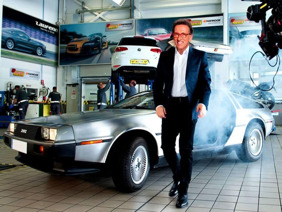 alquiler de coches para rodajes anuncios publicidad television cine delorean jordi hurtado hankook jj dluxe cars alicante servicio