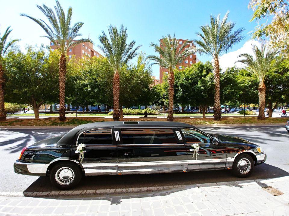 alquiler de limusinas en alicante bodas despedidas cumpleanos eventos jj dluxe cars servicio
