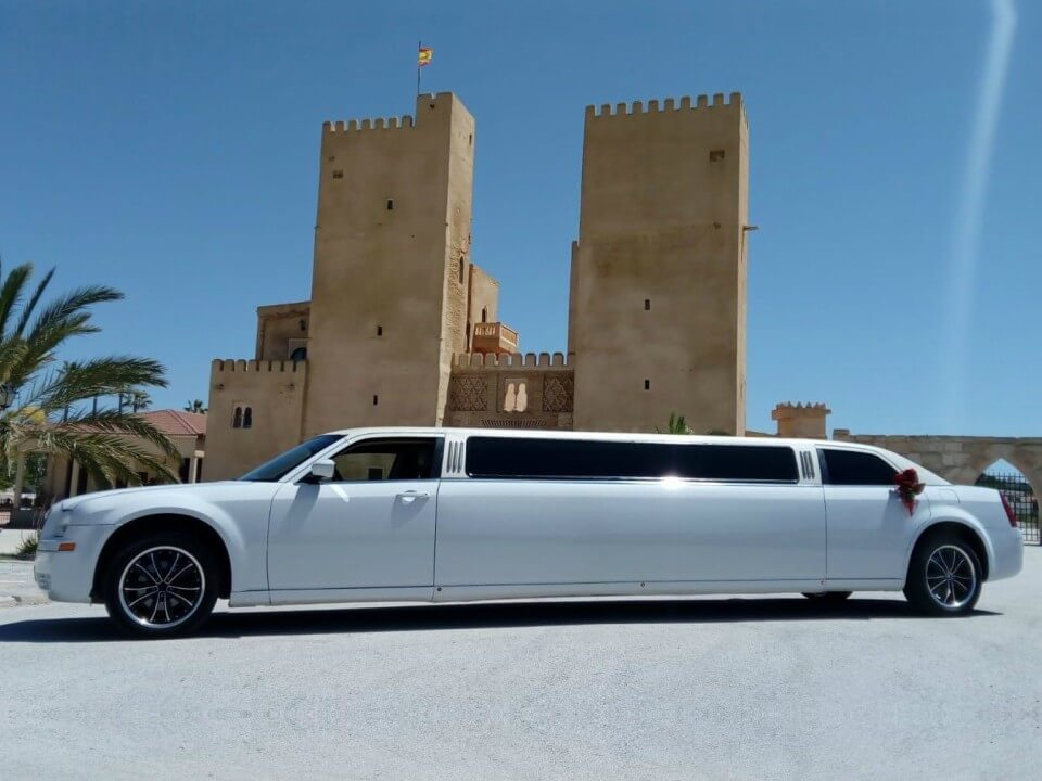 alquiler de limusinas en alicante eventos bodas despedidas cumpleanos jj dluxe cars servicio