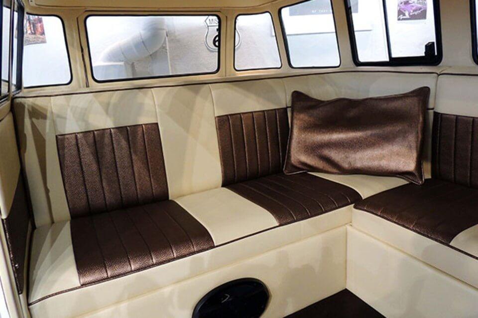 furgonetas para bodas alquiler volkswagen hippie kombi t1 blanca negra en alicante bodas eventos rodajes jj dluxe cars interior